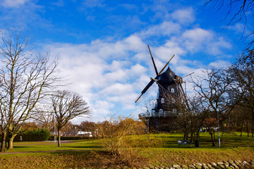 Old Windmill Malmo Sweden