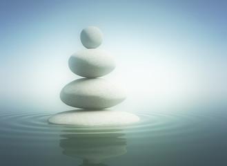 Zen stones in balance