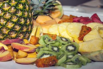 Meravigliosa portata di frutta