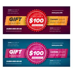 Gift voucher design