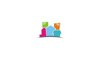 building business company logo