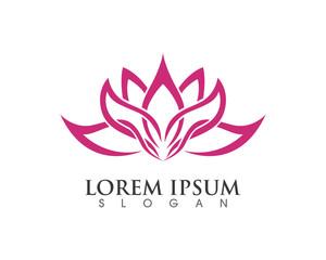 Lotus yoga and health logo