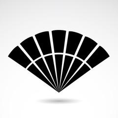 Fan vector icon.