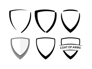 Black Shields Set