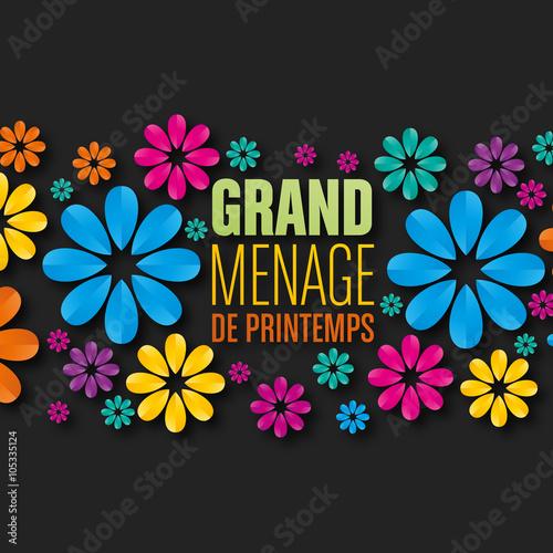 Grand m nage de printemps imagens e vetores de stock royalty free - Grand menage de printemps ...