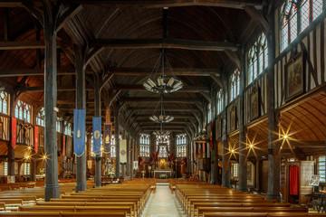 Honfleur, Eglise Sainte Catherine, Fotomurales
