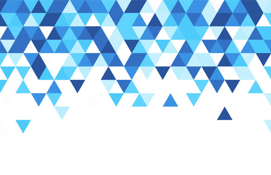 Blue and white abstract background.
