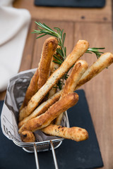 Grissini bread sticks