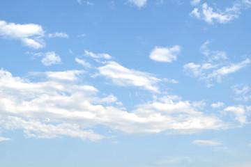 Clouds in the sky bright