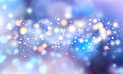elegant festive blue background