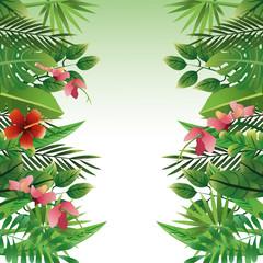 Foliage icon design