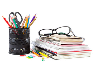 School and office supplies Back to school