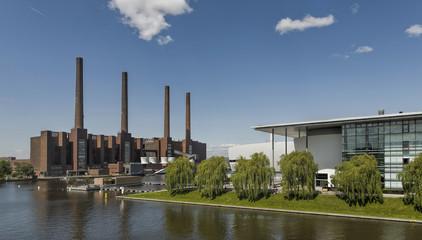 VW Werk Wolfsburg Panorama