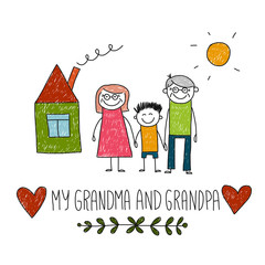 I love my grandparents