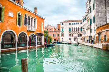 Venetian canal and buildings