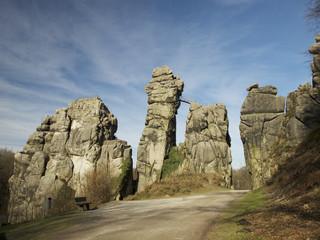 Externsteine Horn - Bad Meinberg