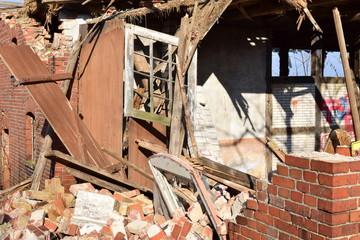 Verfallenes Bauerhaus in Beckedorf