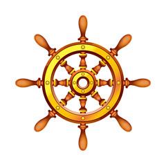 boat wheel 2
