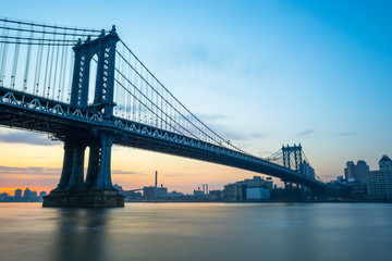Manhattan Bridge Morning