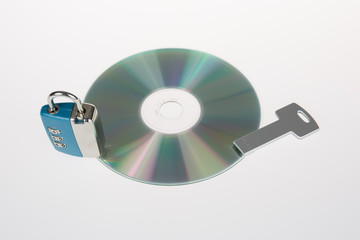 Information security on cd with usb