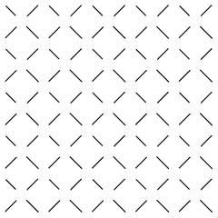 Black Dash White Background Vector Illustration