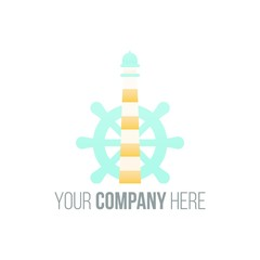cruise ship logo icon Vector
