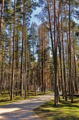 sightseeing tower in Jurmala, Latvia