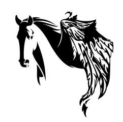 pegasus horse design
