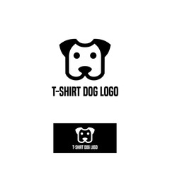 t-shirt dog logo
