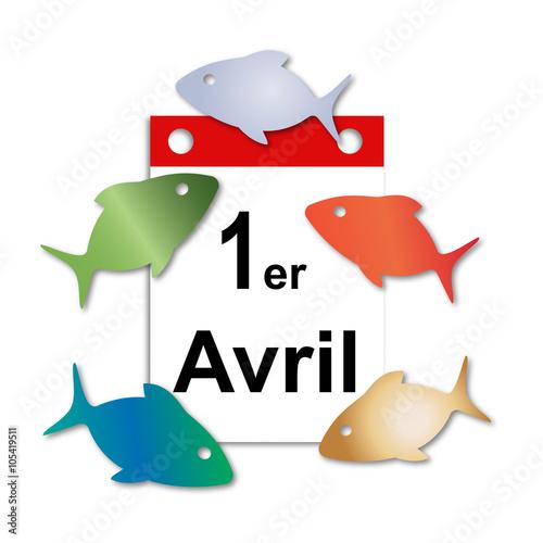Poisson d 39 avril 1er avril fichier vectoriel libre de droits sur la banque d 39 images fotolia - Poisson d avril images gratuites ...