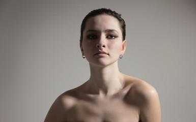 beautiful vamp young perfect woman