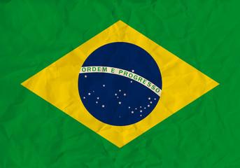 Brazil  paper  flag