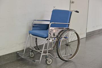 Old Empty Wheelchair