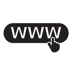 www web icon Illustration design