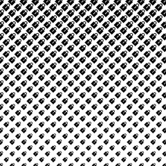 Abstract halftone pattern of padlocks in black on a white backgr