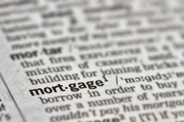 Mortgage Word Definition Text
