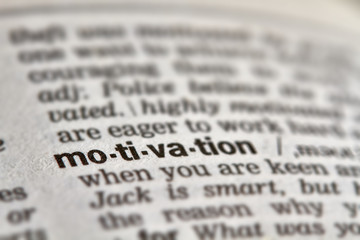 Motivation Word Definition Text