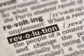 Revolution Word Definition Text