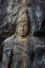 Buduruvagala buddhist temple sri lanka