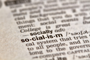 Socialism Word Definition Text