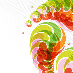 Colorful abstract stream background