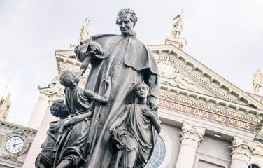 Shrine of Mary Help of Christians - Turin A.D. 1865 - Piedmont - Italy