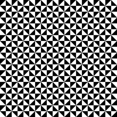 Seamless Pattern | Triangles | Black-and-White 2