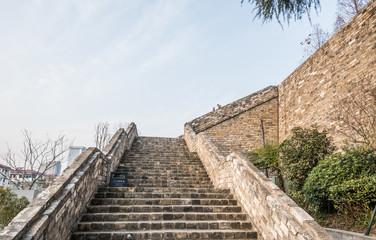 ancient city wall, zhonghua gate, Nanjing, China