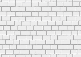 Realistic brick wall. 3d seamless background.