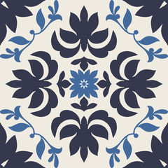 Damask beautiful background with modern ornament