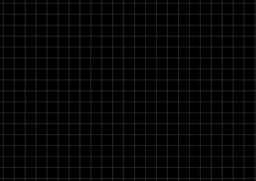 White Grid Black Background Vector Illustration