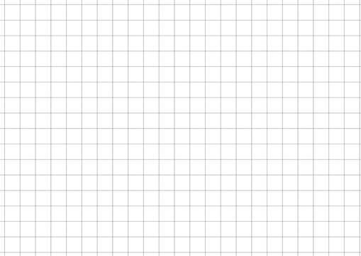 Black Grid White Background Vector Illustration
