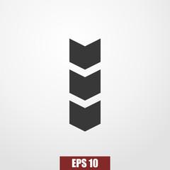 military's stripes icon