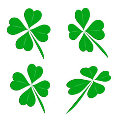 Four leaf clover group